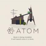 webサイトプログラミングならAtomがおすすめエディタ!Github社製です!