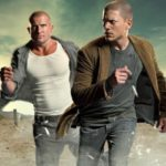 PRISON BREAK: Michael (Wentworth Miller, R) and Lincoln (Dominic Purcell, L) return on Season Four of PRISON BREAK premiering Monday, Sept. 1 (8:00-10:00 PM ET/PT) on FOX. ©2008 Fox Broadcasting Co. Cr: Florian Schneider/FOX