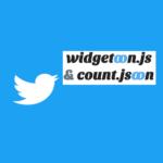 SNS Count CacheのTwitterのツイート数を取得するAPI【widgetoon.js & count.jsoon】