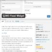 Q2W3 Fixed Widgetでスクロール追尾するウィジェットをサイドバーに設置しよう【Wordpress】